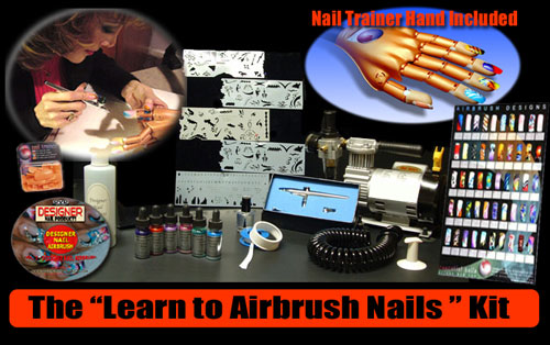 Learn to Airbrush Nails Kit