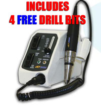 Jet-9000 electric nail drill - And for a LIMITED TIME, get 4 FREE nail drill bits.
