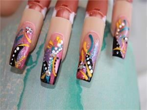 Designer nail products nail art store youtube nail art videos youtube nail art videos color inlay acrylic handpainted nail art prinsesfo Images