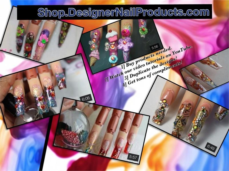Learn how to do nail art designs