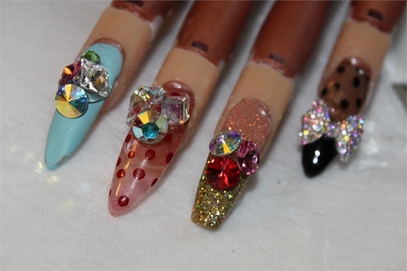 3d nail art jam 12 oz jar 2017 designer nail products nail art store prinsesfo Images