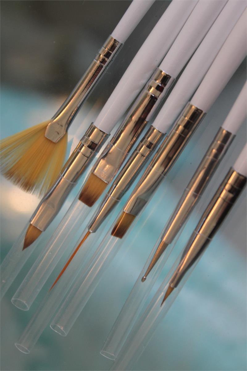 Nail Art Brush Variety Pack 18pcs.
