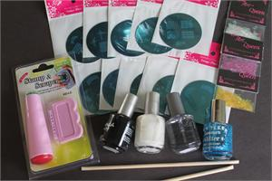 Stamping nail art kit 2 prinsesfo Image collections