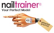 CLICK FOR MORE INFO ON NAIL TRAINER PRACTICE HANDS