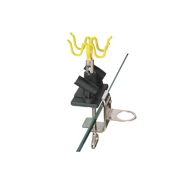 Airbrush gun holder-hanger prevents your valuable airbrush from accidental droppage.