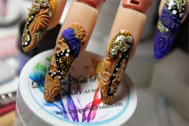 3 D Nail Art Impressions Splash